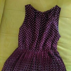 Maison Jules Maxi Polka Dot Dress
